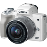 کیت دوربین بدون آینه کانن Canon EOS M50 Mirrorless Digital Camera with 15-45mm Lens (White)